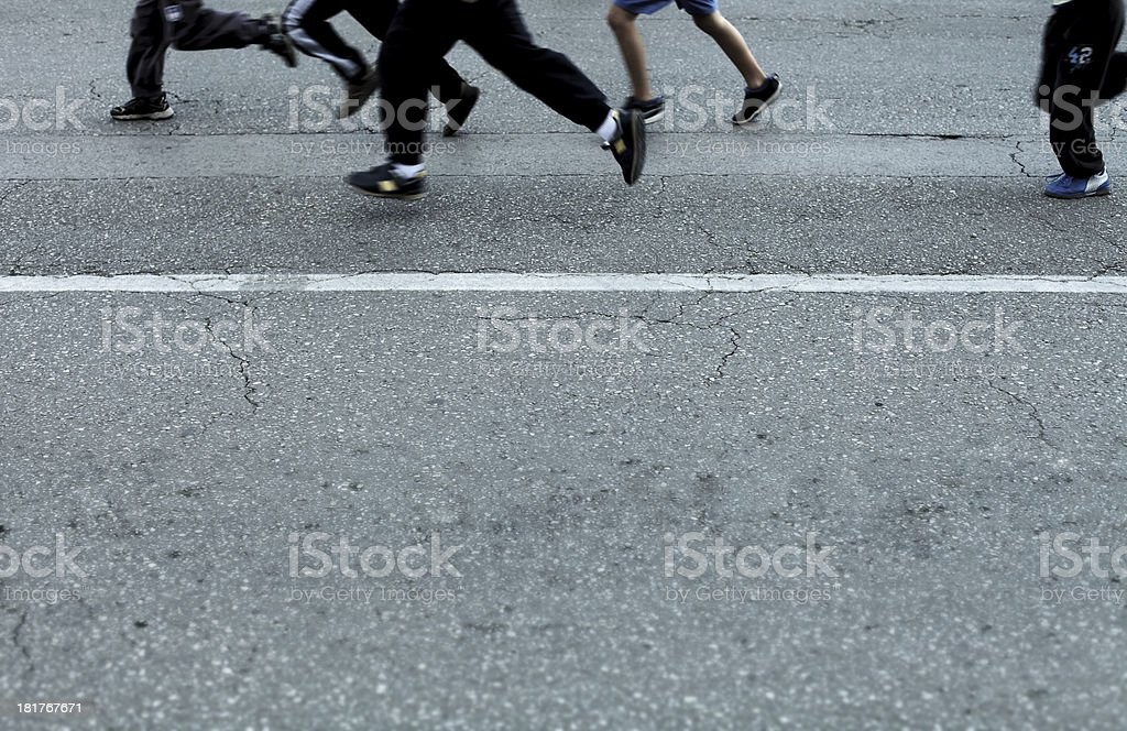 In motion royalty-free stock photo