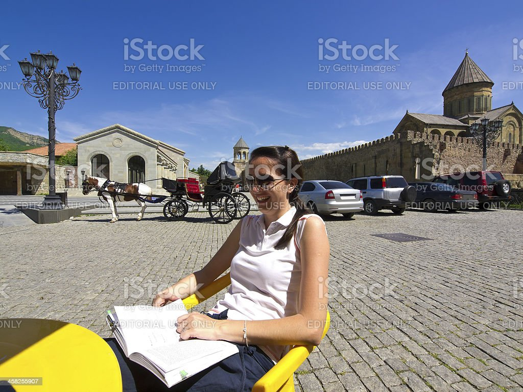In Mtskheta stock photo