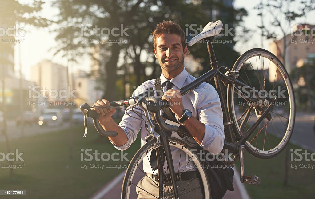 In my opinion, the best mode of transportation! stock photo
