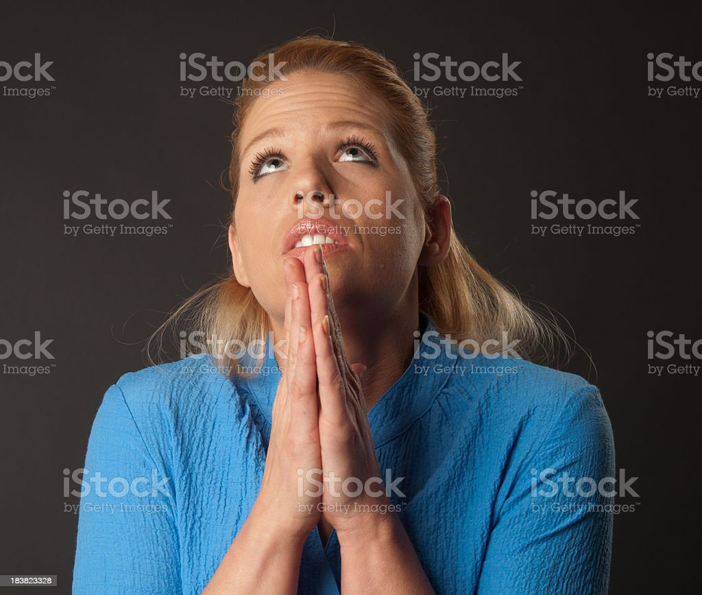 In Need Of Prayer royalty-free stock photo