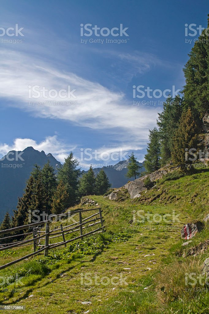 In Oetztal Alps stock photo