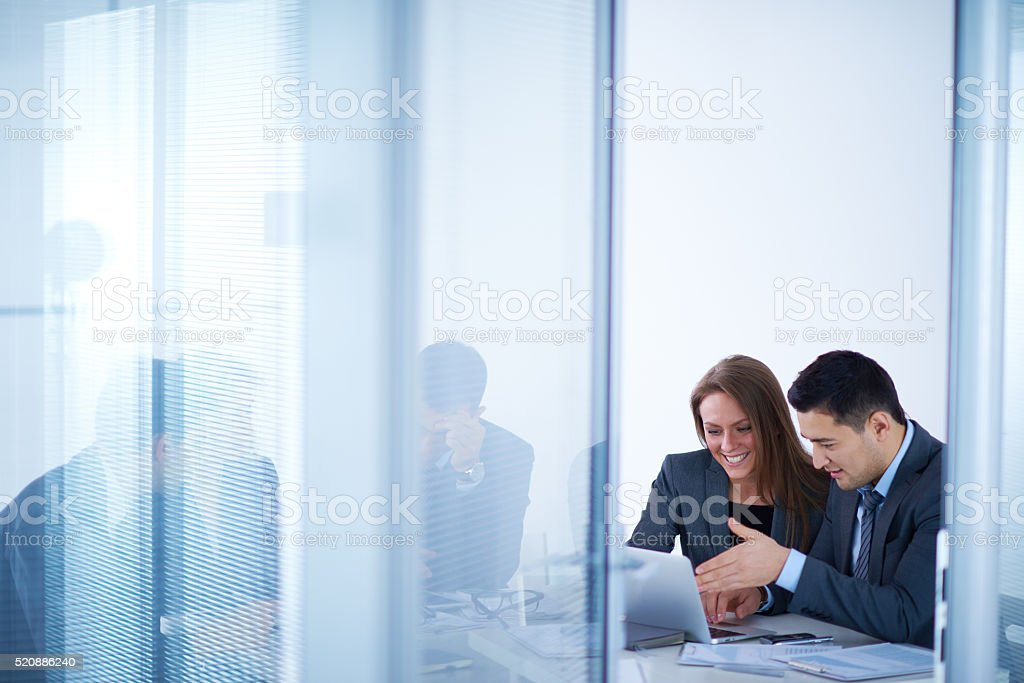 In office room stock photo
