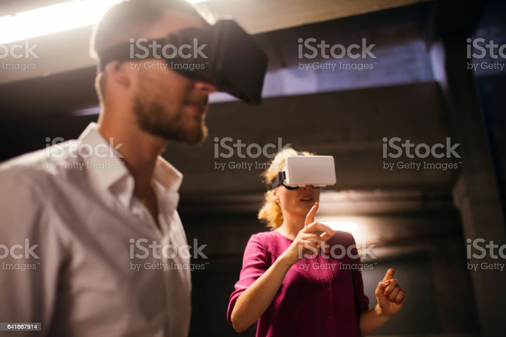 In our virtual world stock photo