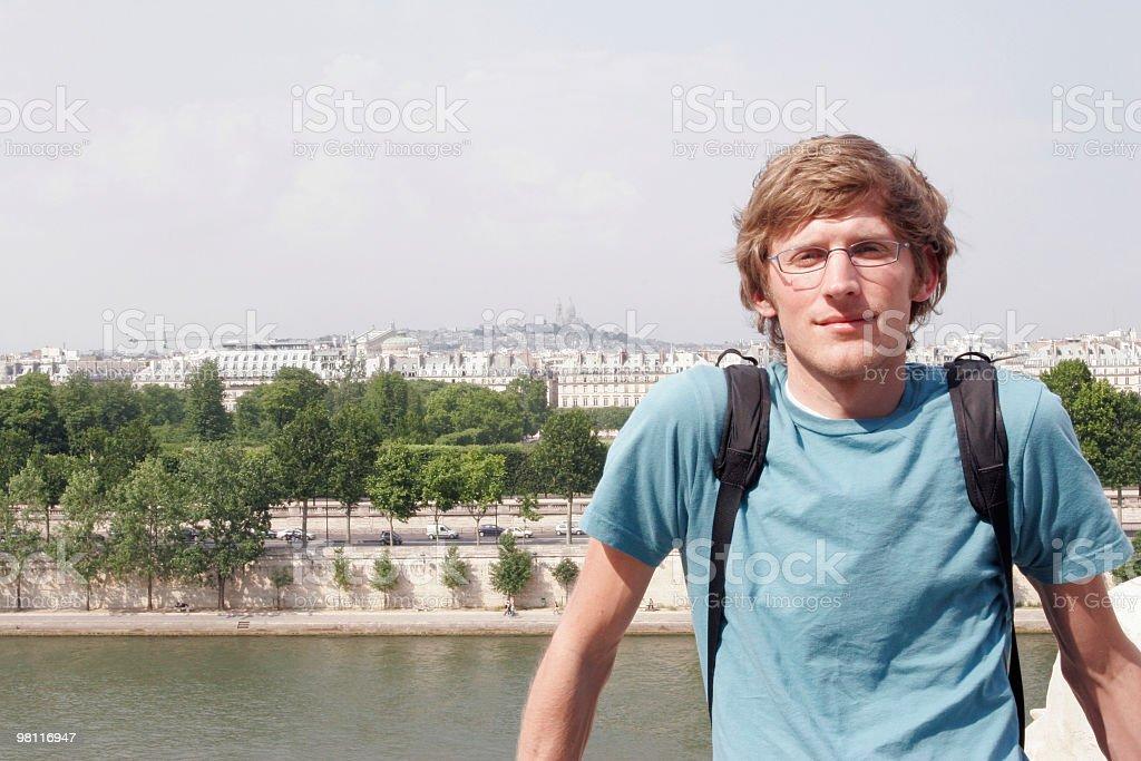 In Paris royalty-free stock photo