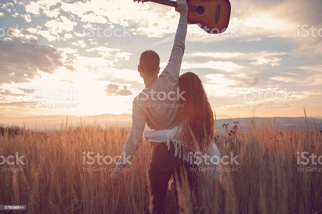 In praise of love stock photo