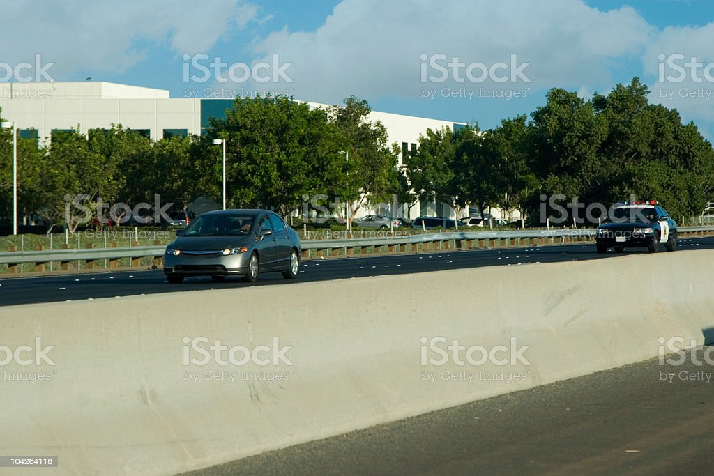 in pursuit royalty-free stock photo
