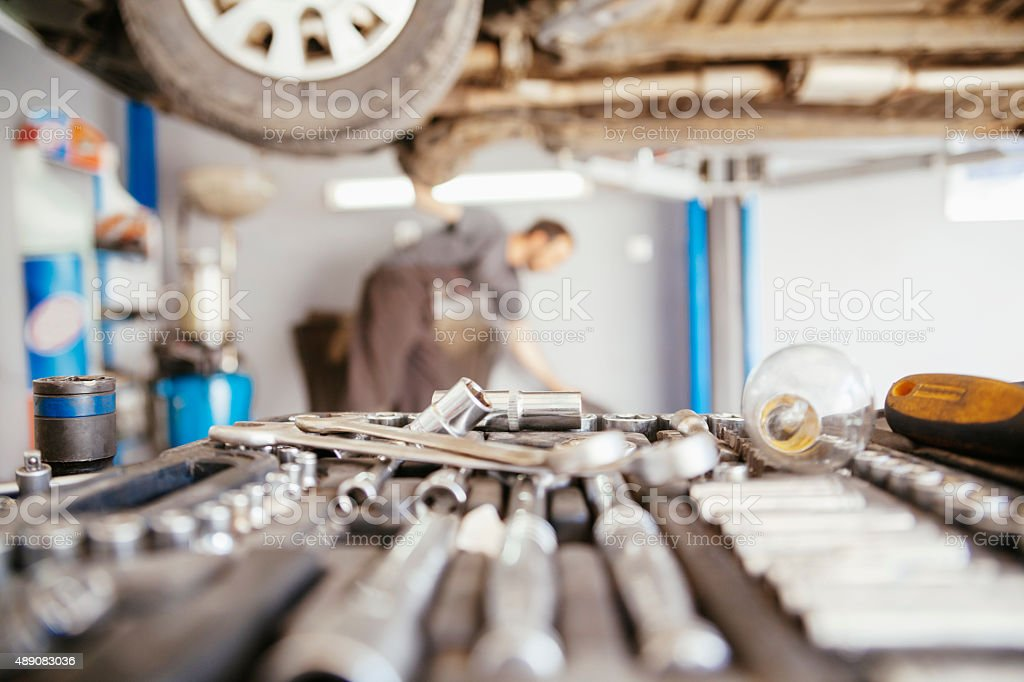 In Repair Service stock photo