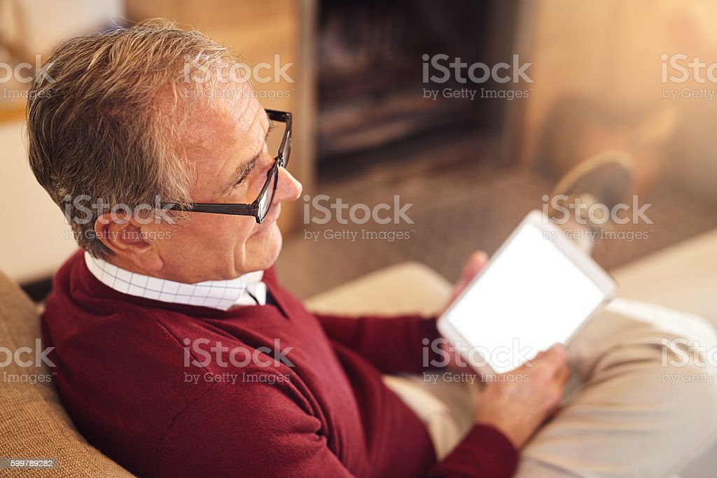 In retirement, every day is Saturday stock photo