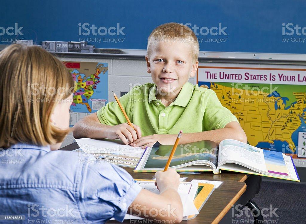 In der Schule Lizenzfreies stock-foto