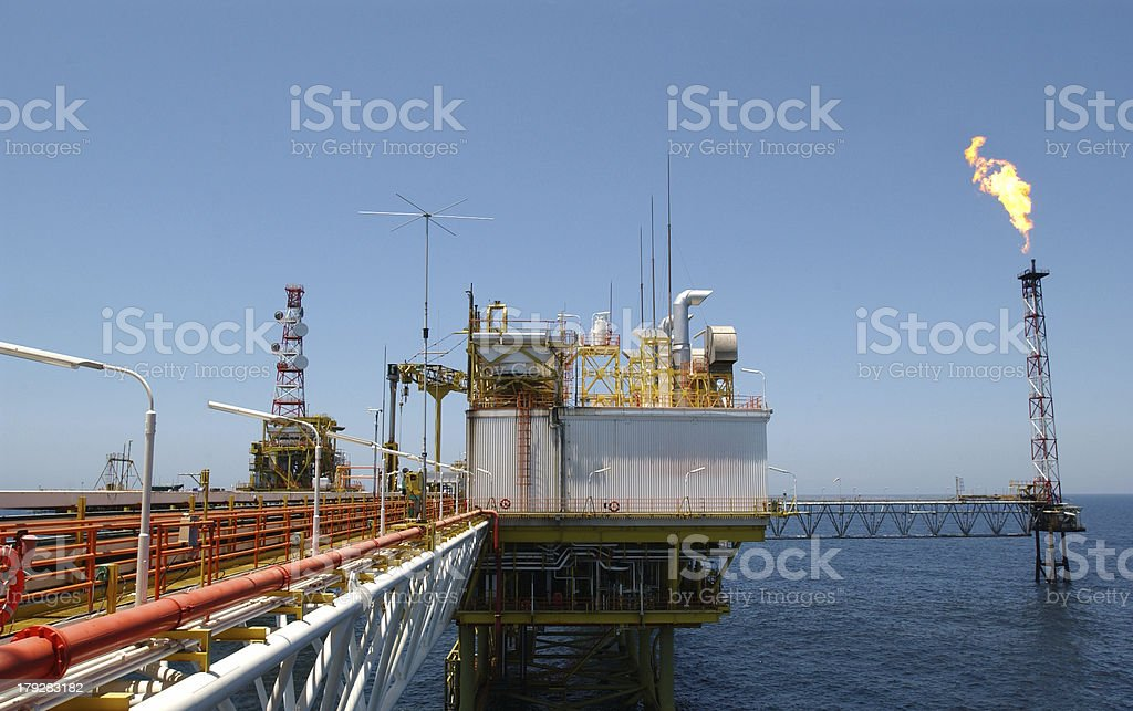 In Search Of Oil royalty-free stock photo