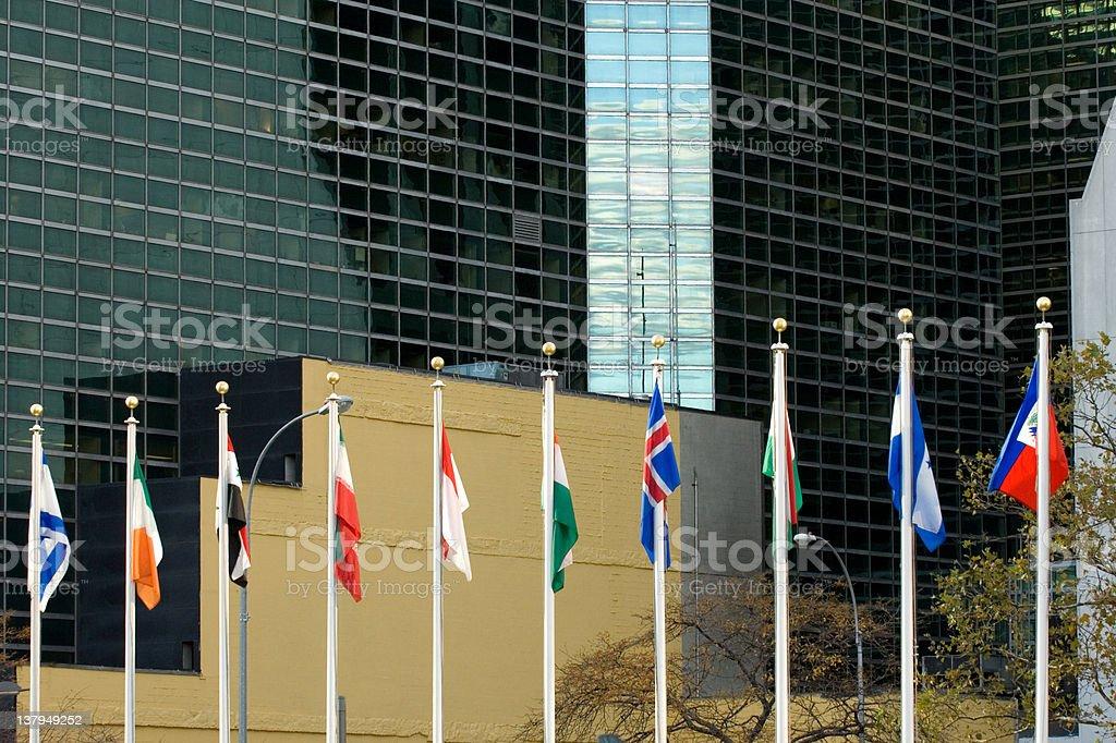 UN in session stock photo