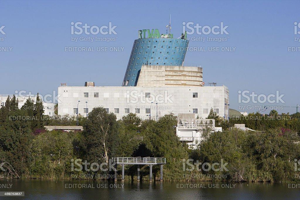 RTVA in Seville, Spain royalty-free stock photo