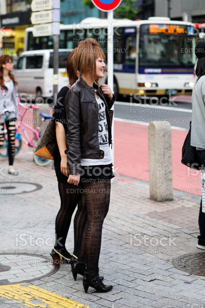 In Shibuya stock photo