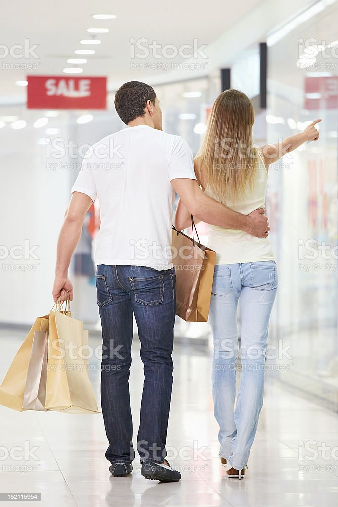 In shop royalty-free stock photo