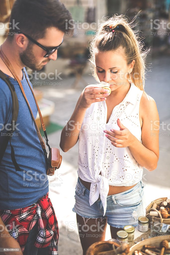 In shopping stock photo