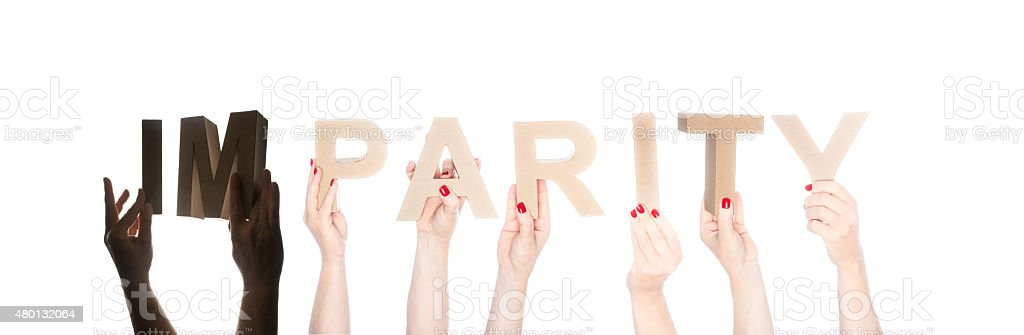 IM in silhouette and parity in normal lighting stock photo