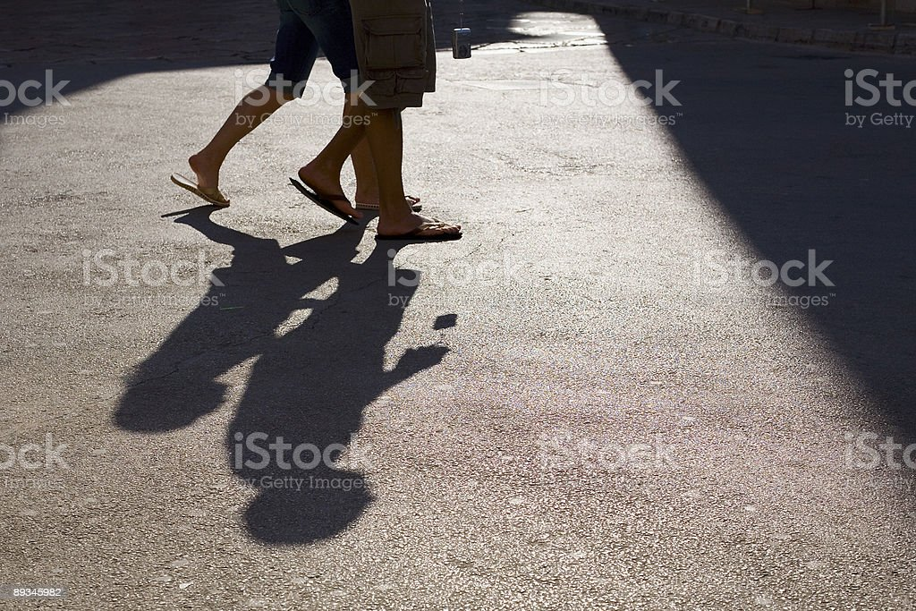 In Step royalty-free stock photo