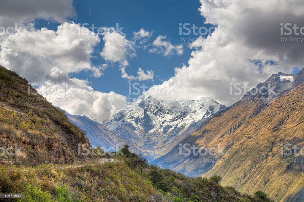 In the Andes royalty-free stock photo