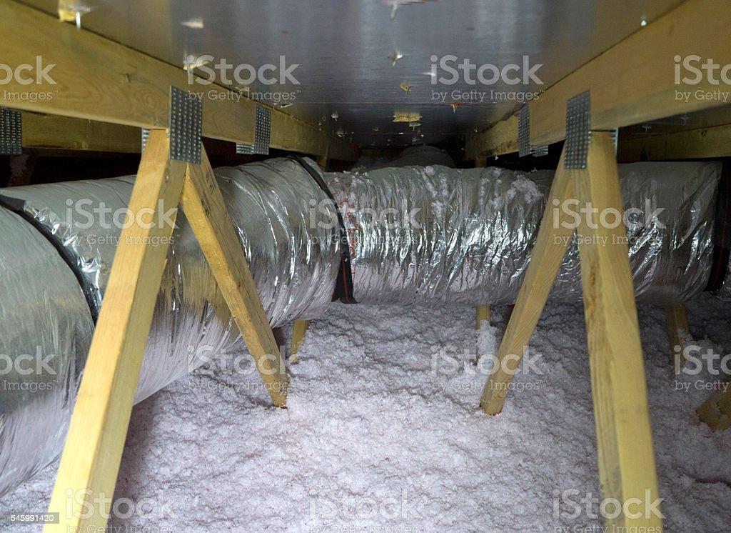 in the attic stock photo