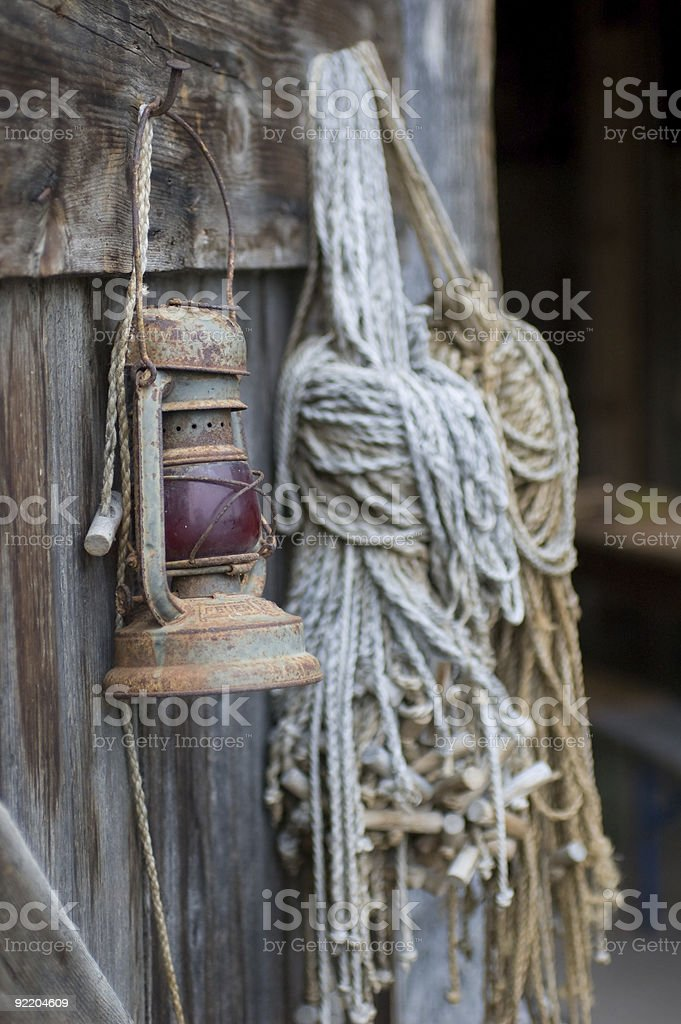 In the barn 2 royalty-free stock photo