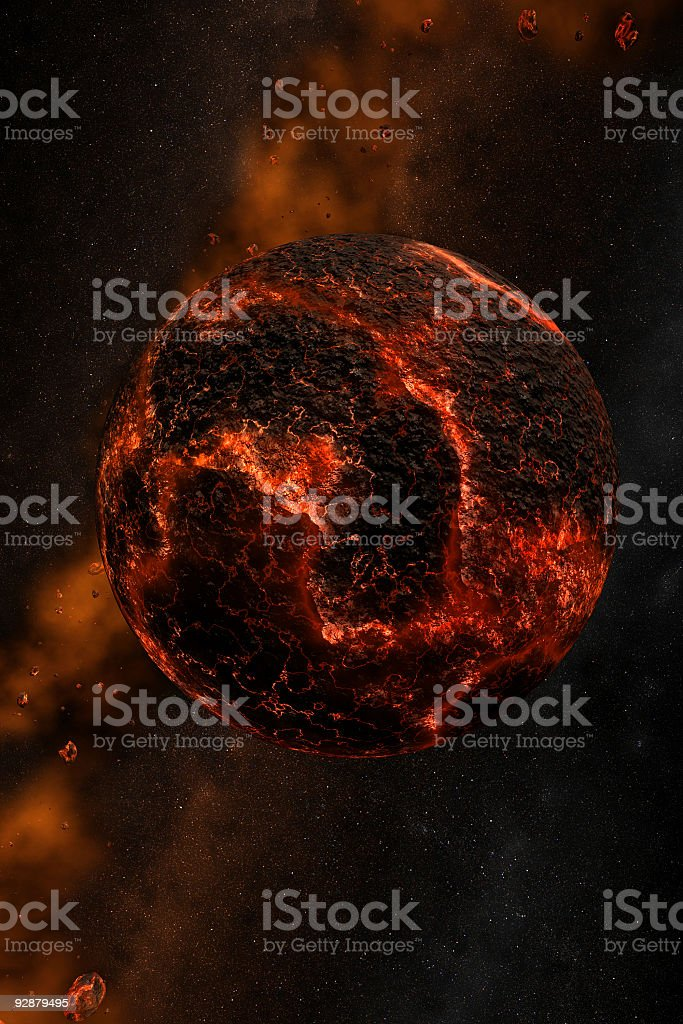 In the beginning royalty-free stock photo