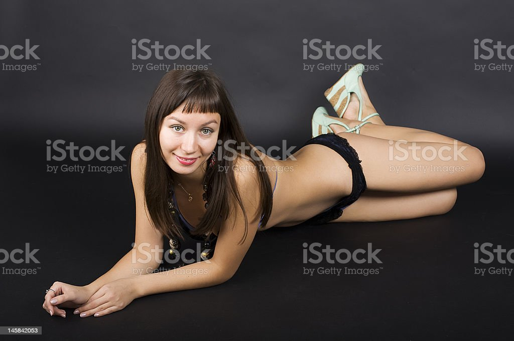 In the black royalty-free stock photo