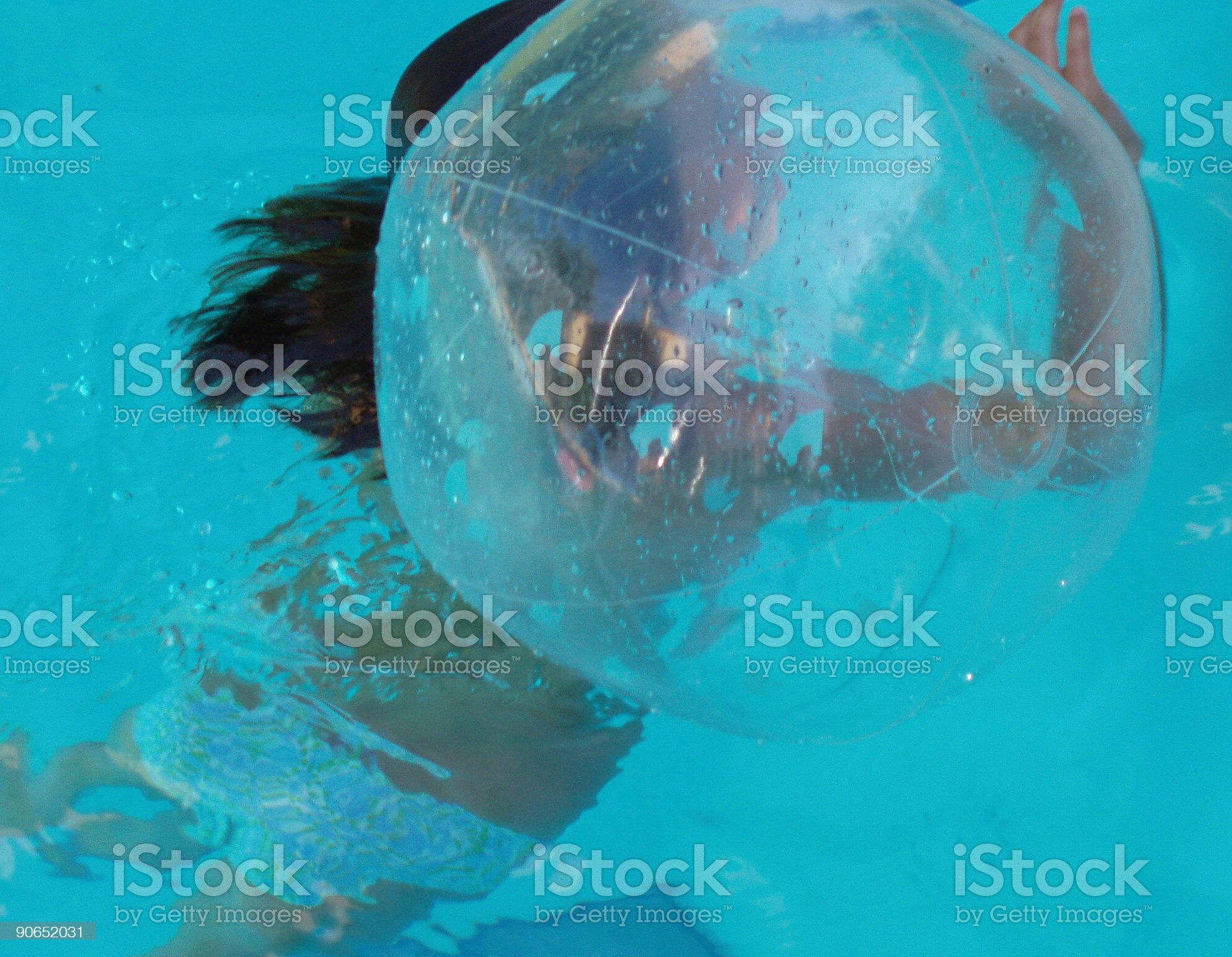 in the bubble royalty-free stock photo