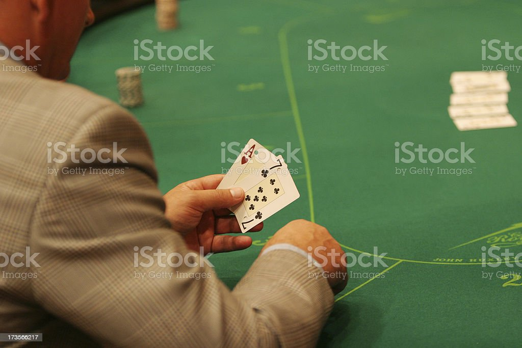 In the casino royalty-free stock photo