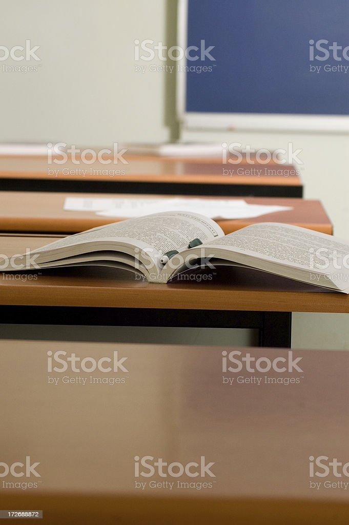 in the class royalty-free stock photo