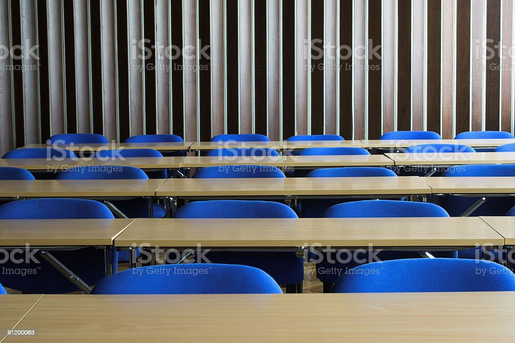 In the classromm royalty-free stock photo