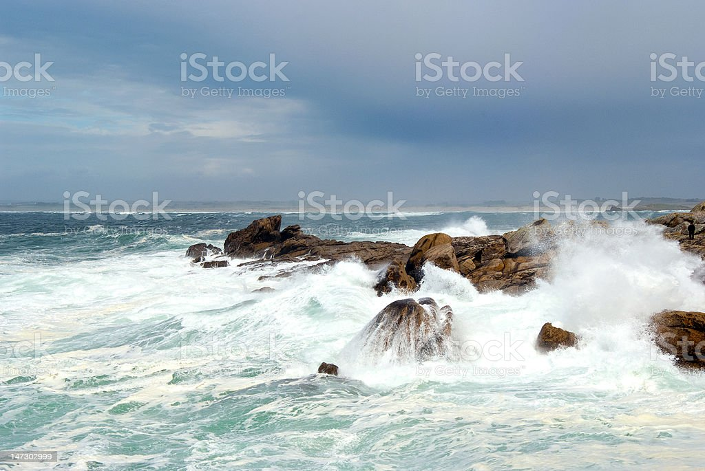 In the daytime of storm royalty-free stock photo