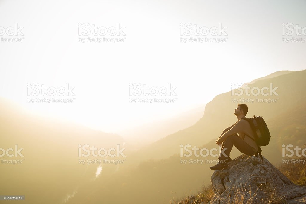 In The Great Outdoors stock photo
