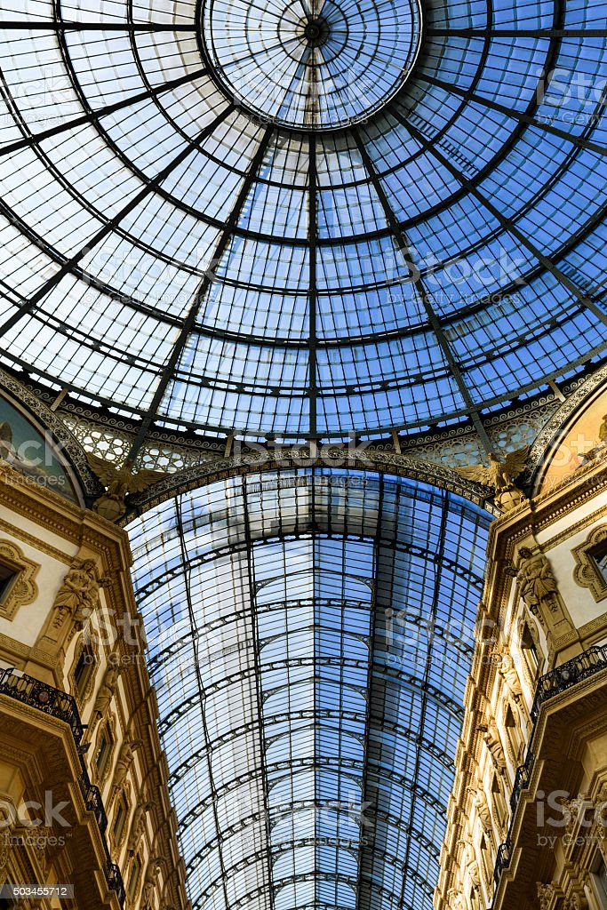 in the heart of Milan, Italy stock photo