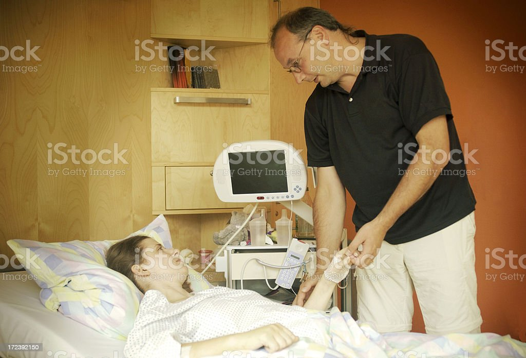 In the hospital royalty-free stock photo