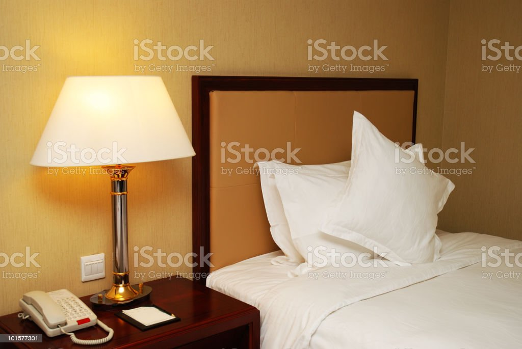 In the hotel royalty-free stock photo