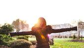 in the hug of the sun