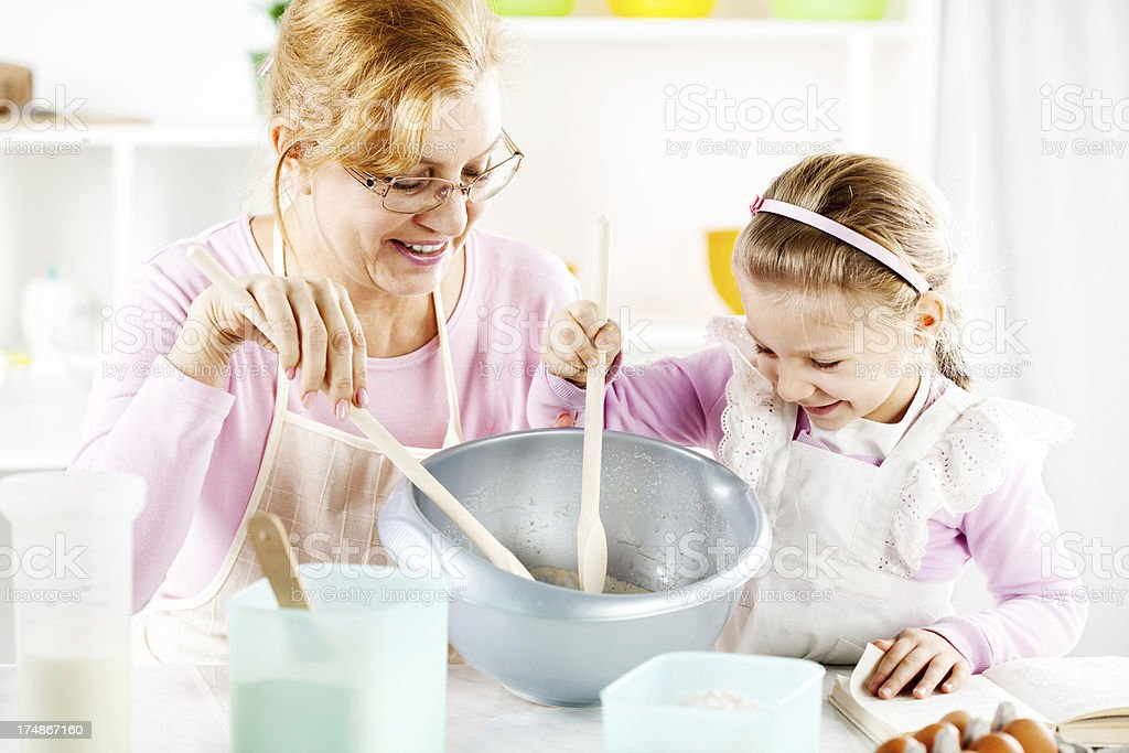 In the kitchen. royalty-free stock photo