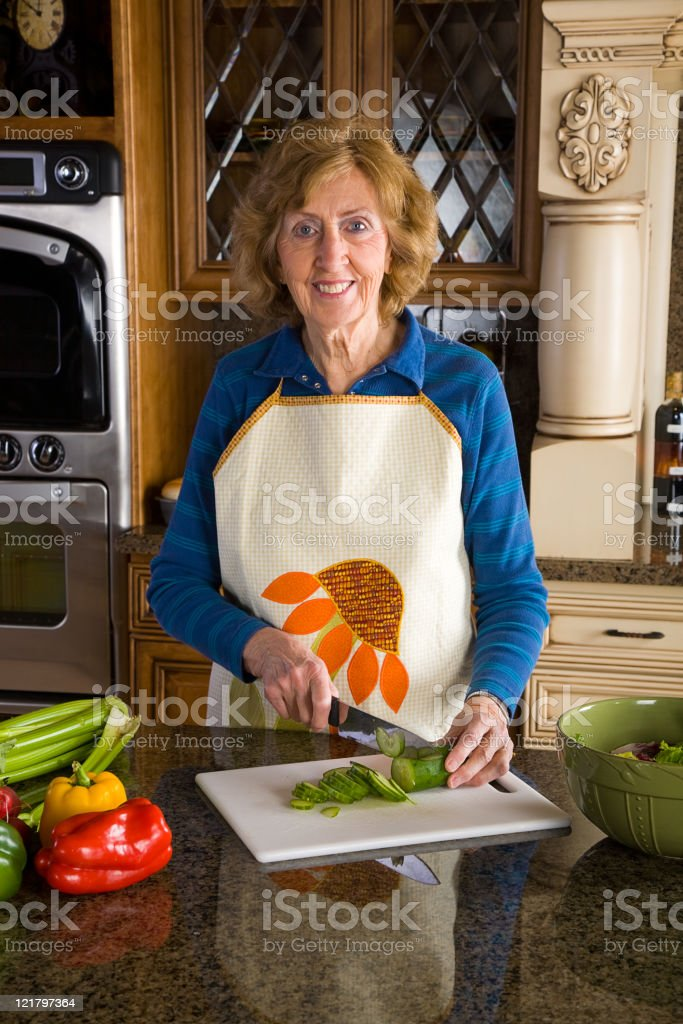 In the Kitchen Series royalty-free stock photo