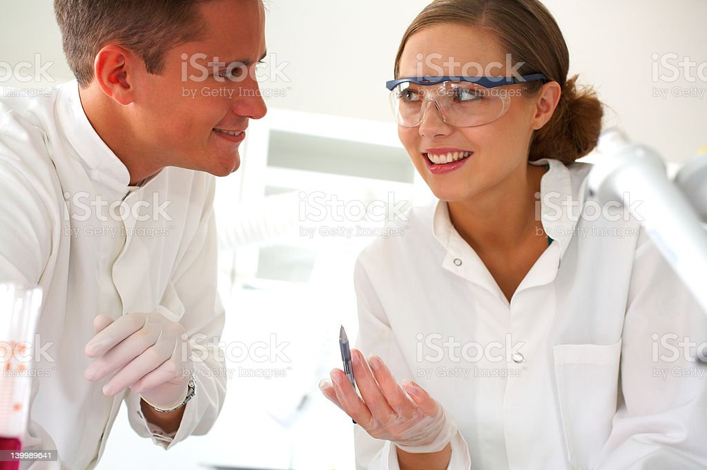 In the medical lab. royalty-free stock photo