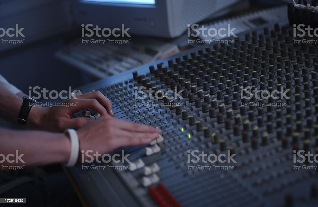 in the mix stock photo