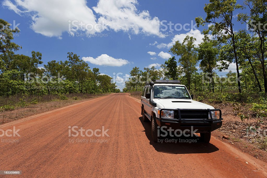 4WD in the Northern Territory royalty-free stock photo