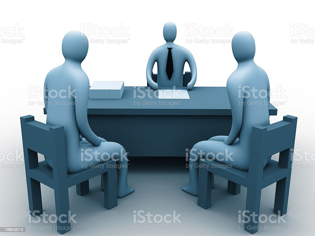 In the office. royalty-free stock photo