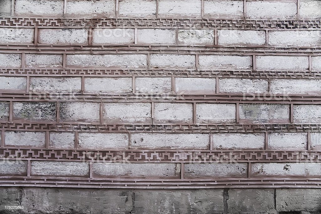 in the old walls of Constantinople royalty-free stock photo