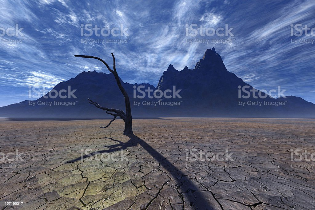 In the shadow of death royalty-free stock photo