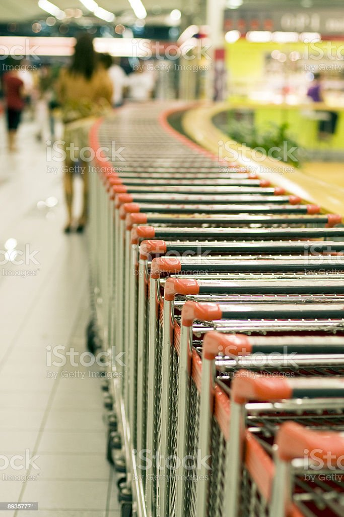 In the shopping centre royalty-free stock photo