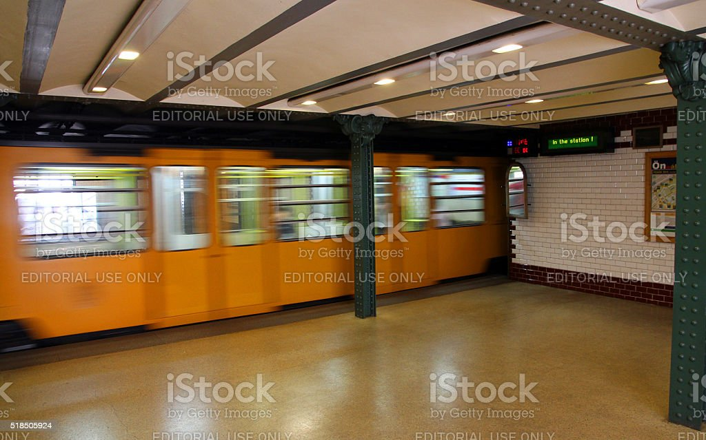 In the Station stock photo