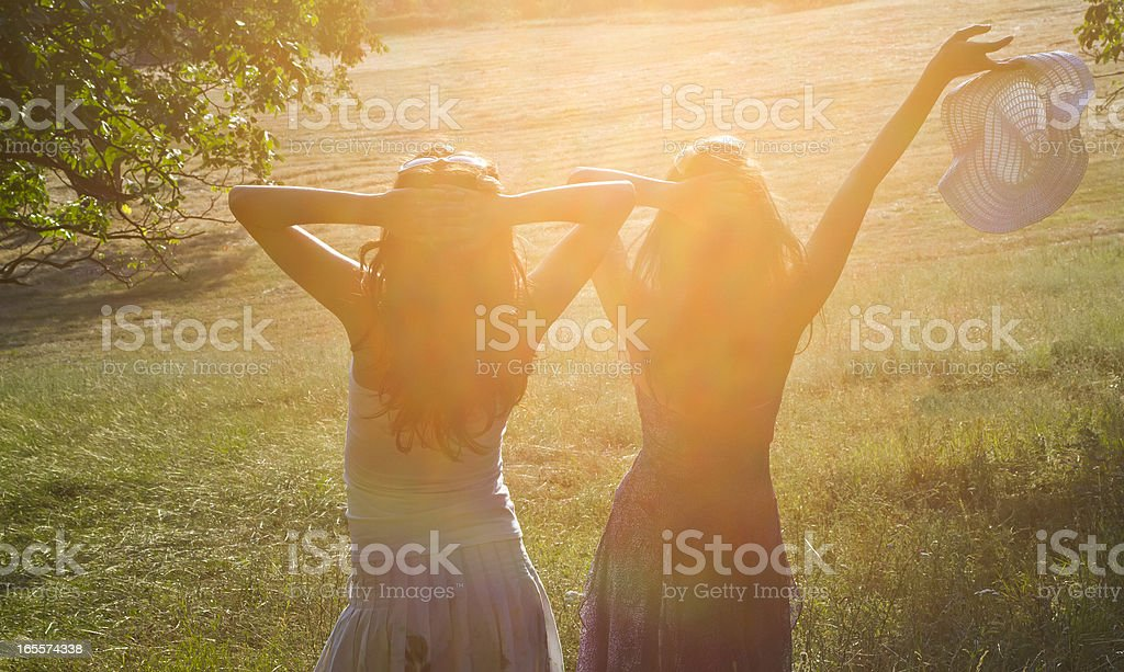 In the sun royalty-free stock photo