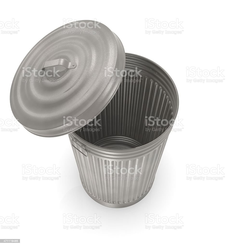 In the trash royalty-free stock photo