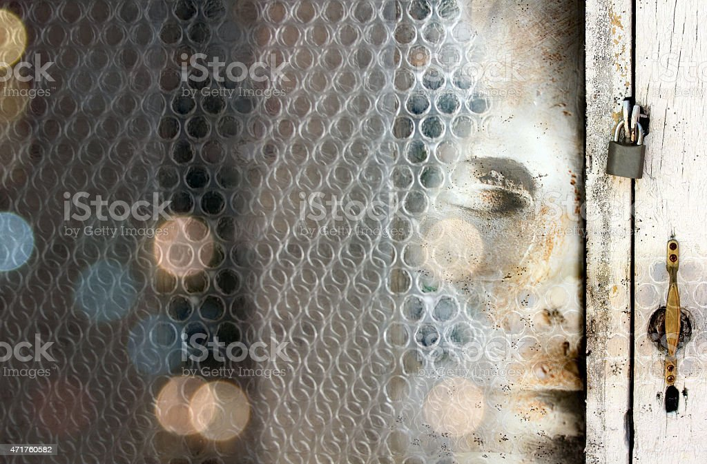 In the unconscious stock photo