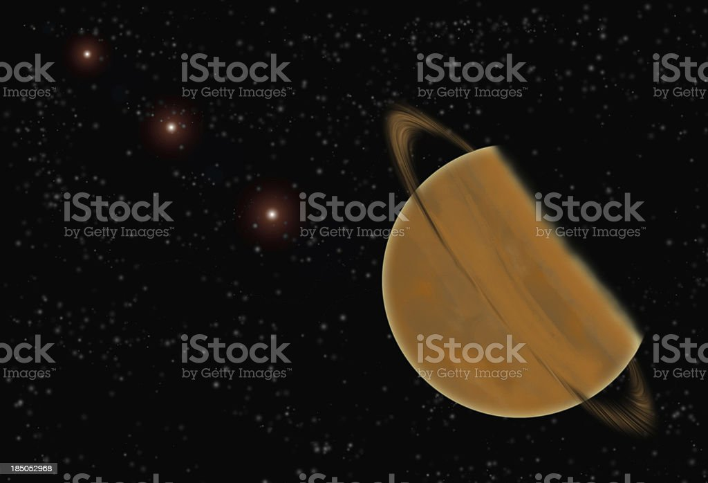 In the universe. royalty-free stock photo